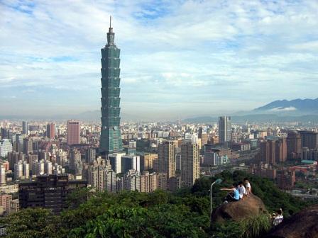 Taipei 101: vista