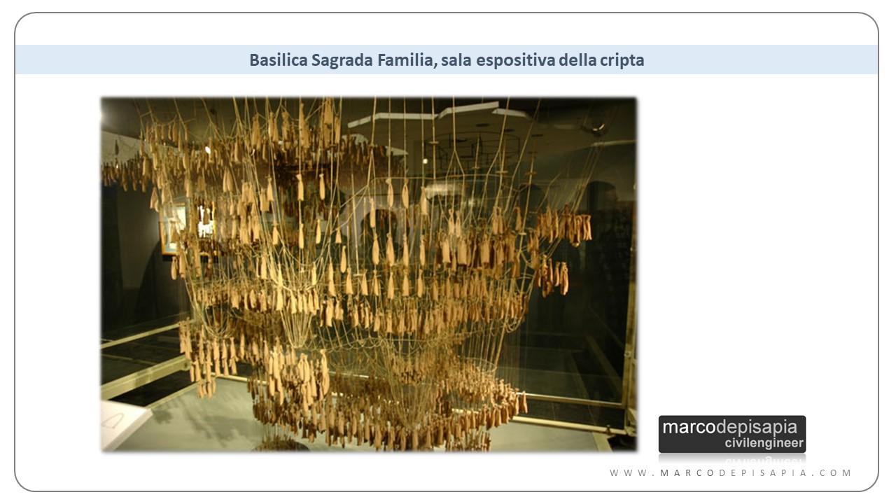 archi in muratura: cripta della Sagrada Familia