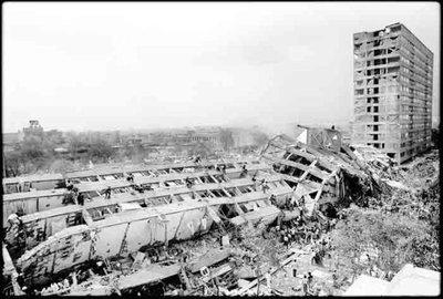 terremoto città del messico risonanza