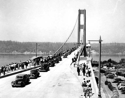 Tacoma Bridge: la curiosa storia del ponte durato 129 giorni