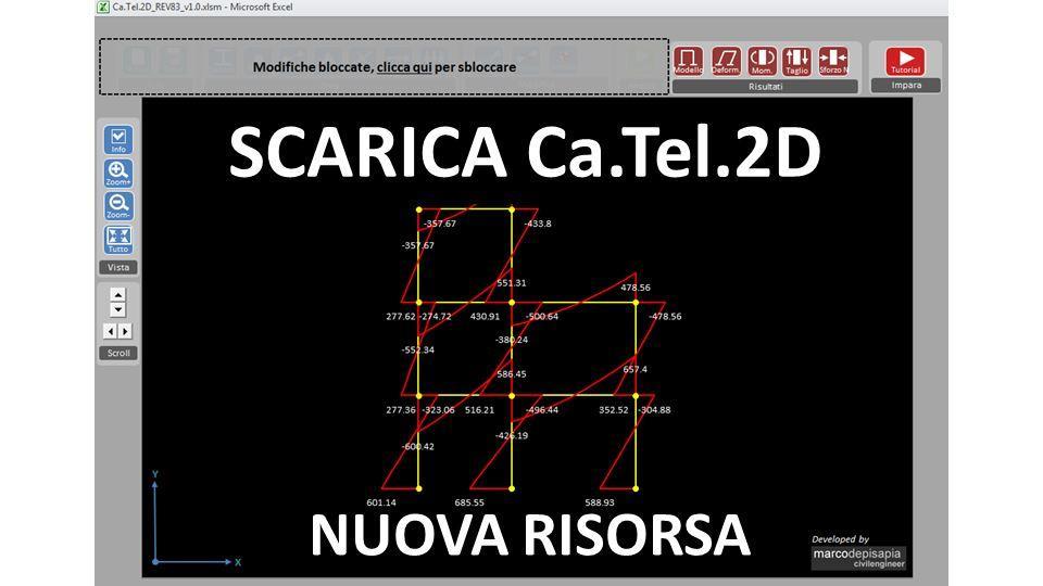 Analizza modelli piani con Ca.Tel.2D [Nuova risorsa]