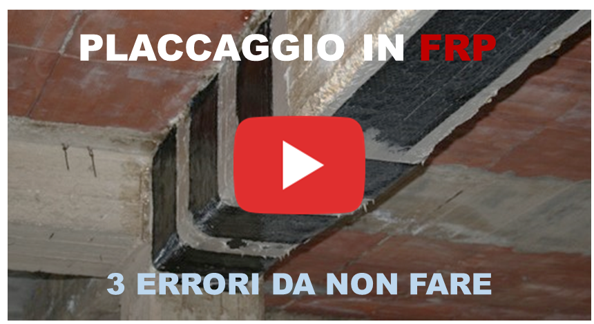 Placcaggio di una trave in FRP: 3 errori da non fare [video-tutorial]