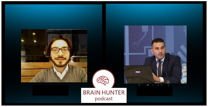 Skype call brain hunter podcast luca cocozza