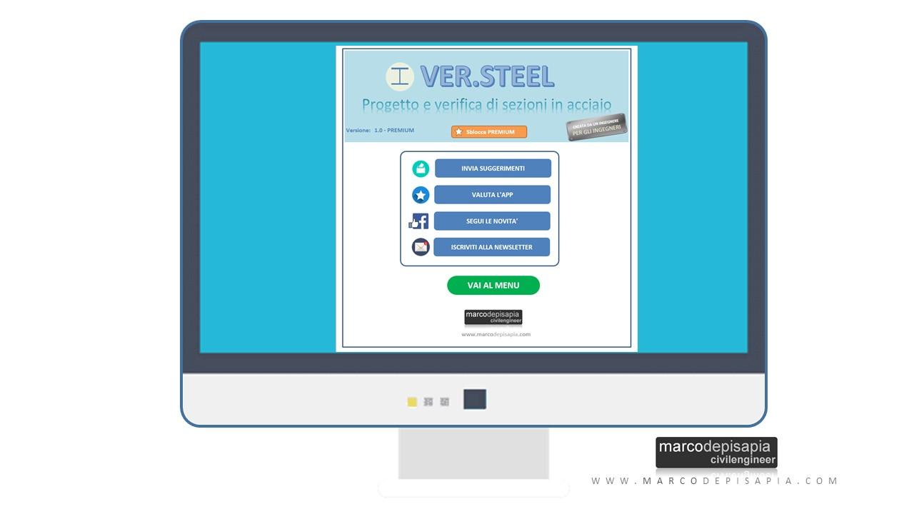 Schermata Ver.Steel