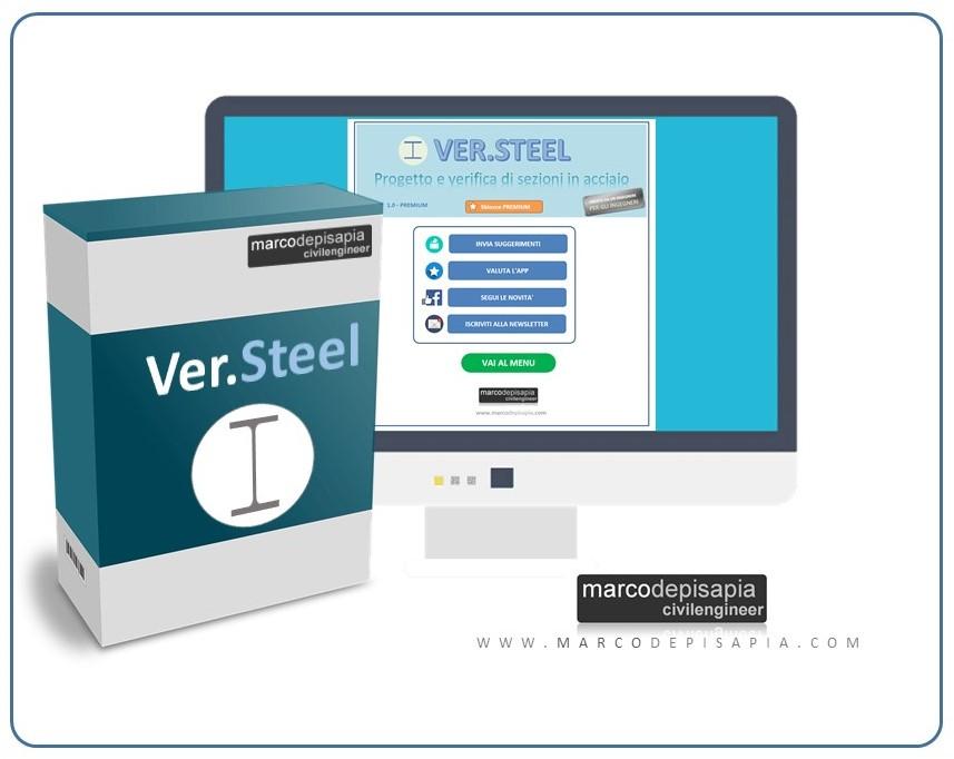 ver.steel calcolo sezioni in acciaio