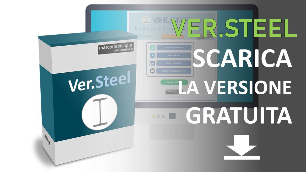 Ver.Steel: app per la verifica di sezioni in acciaio, prova la versione gratuita
