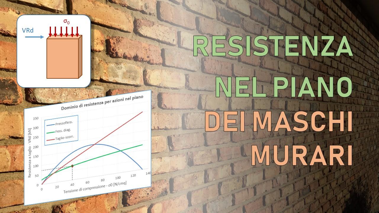 resistenza a taglio muratura