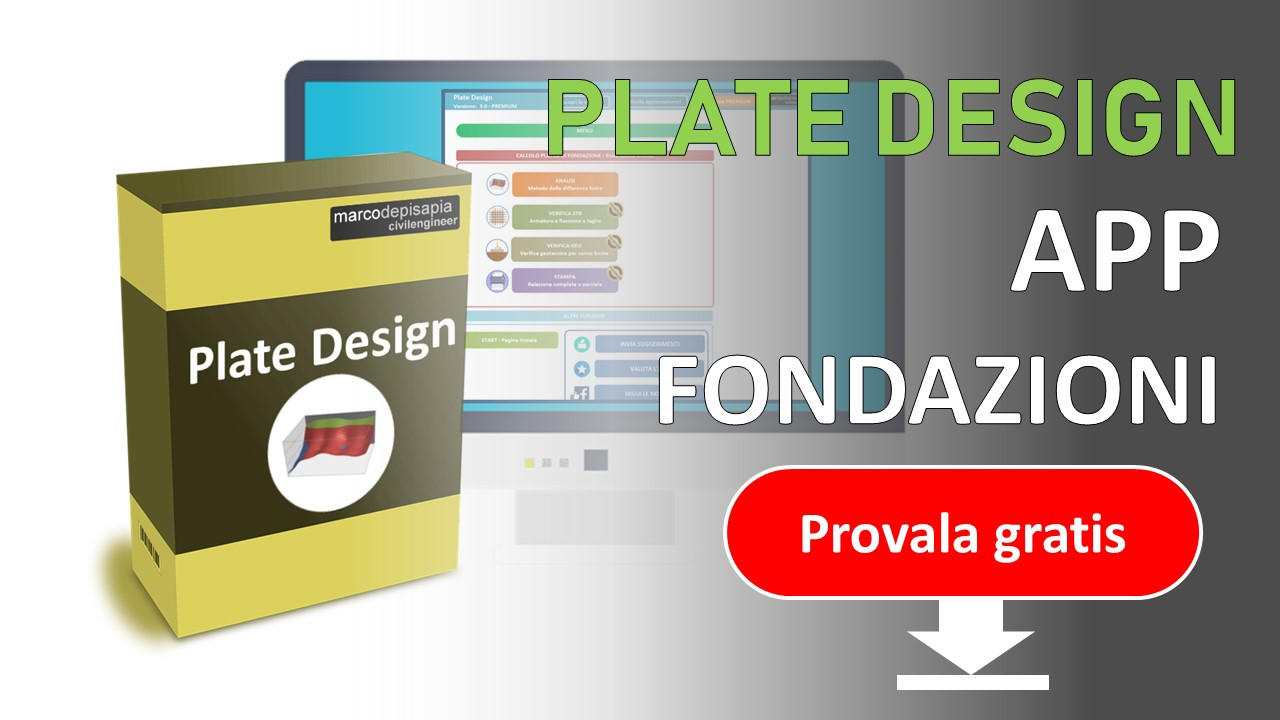 plate design: provala gratis - platee di fondazione