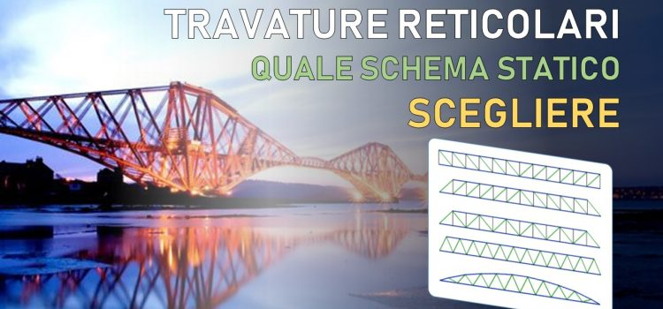Travature reticolari in acciaio: quale schema statico scegliere (Mohniè, Howe, Pratt, Neville, Parabolica)