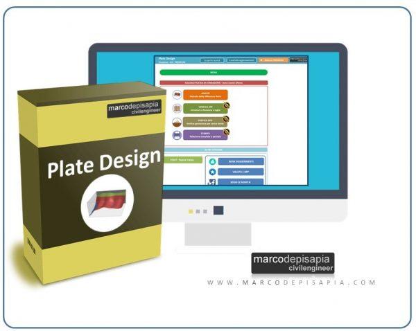plate design calcolo platee di fondazione