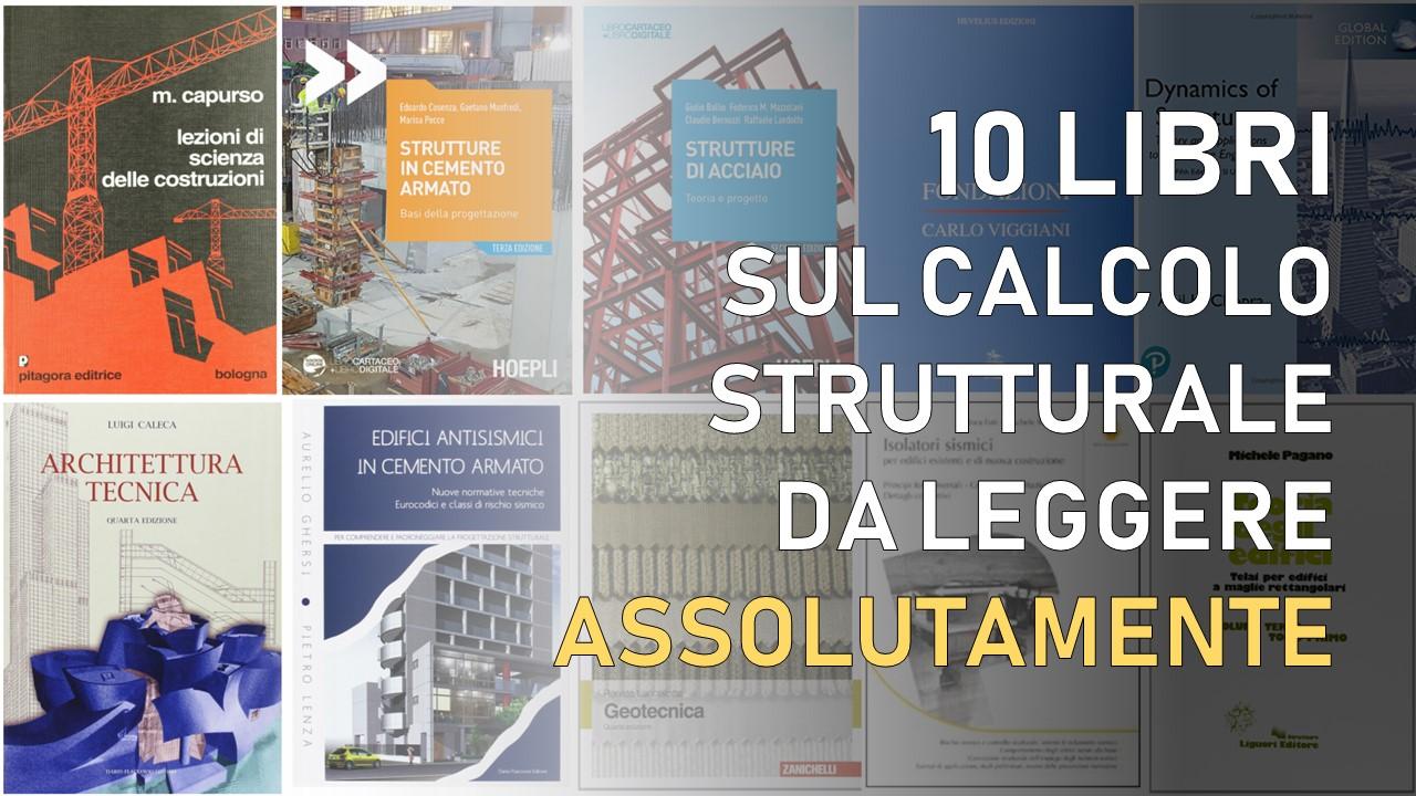 libri calcolo strutturale