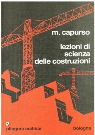 libri calcolo strutturale: lezioni di scienza delle costruzioni, capurso
