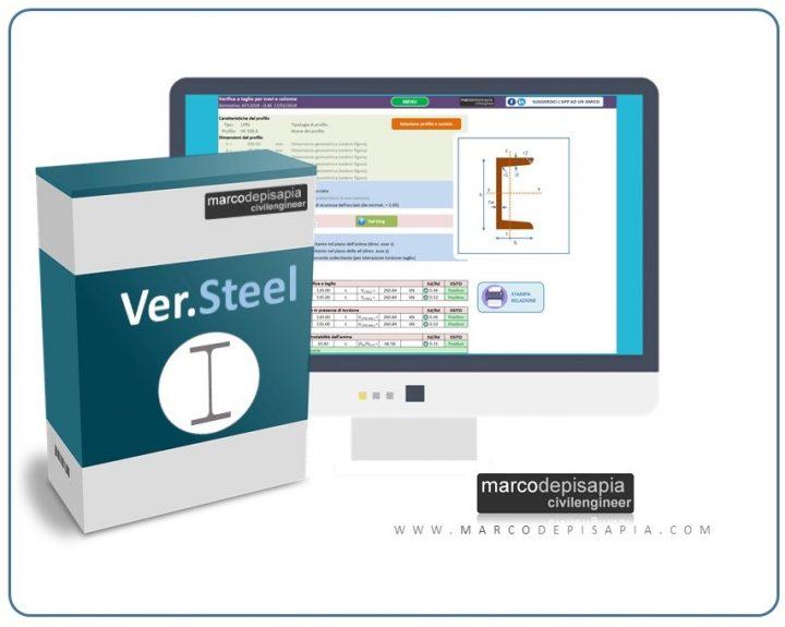 ver.steel. progetto sezioni in acciaio
