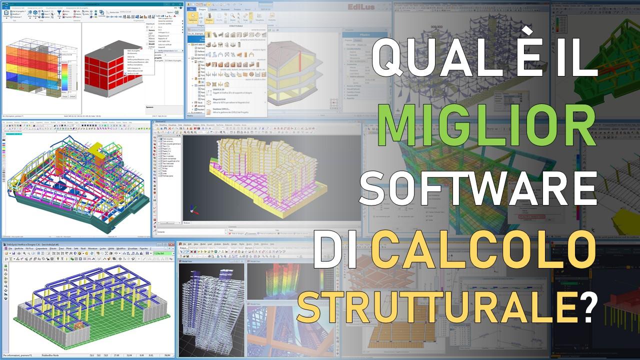 miglior software di calcolo strutturale