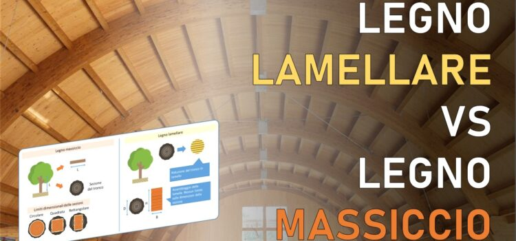 Legno lamellare per uso strutturale: tecnica di produzione e vantaggi rispetto al legno massiccio