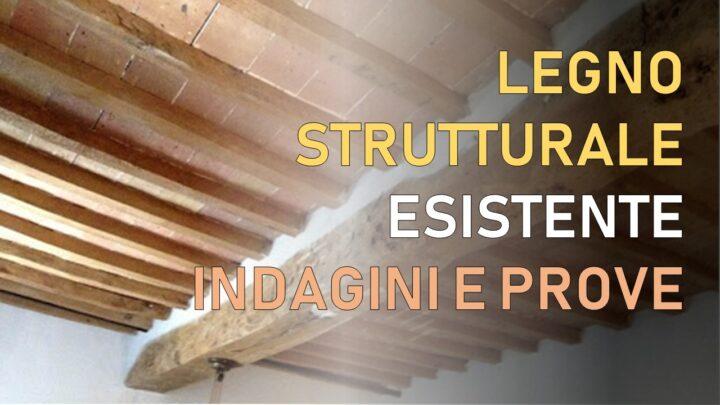 legno strutturale esistente