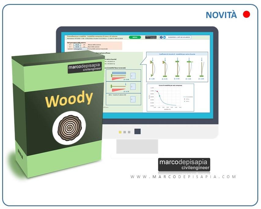 woody app legno massiccio e lamellare