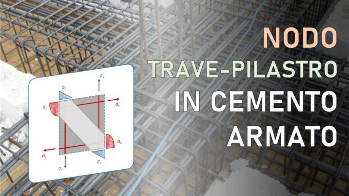 nodo trave-pilastro cemento armato