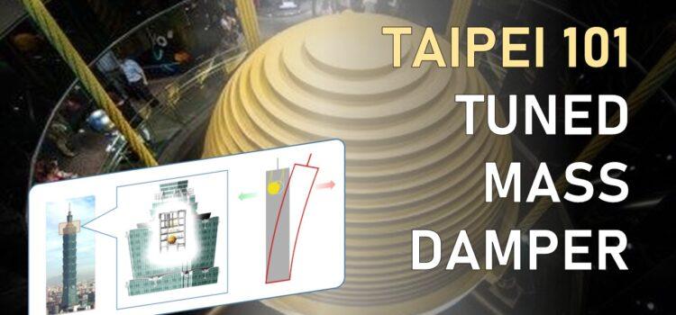 Taipei 101: una sfera d'acciaio per proteggersi dal sisma [Tuned mass damper]