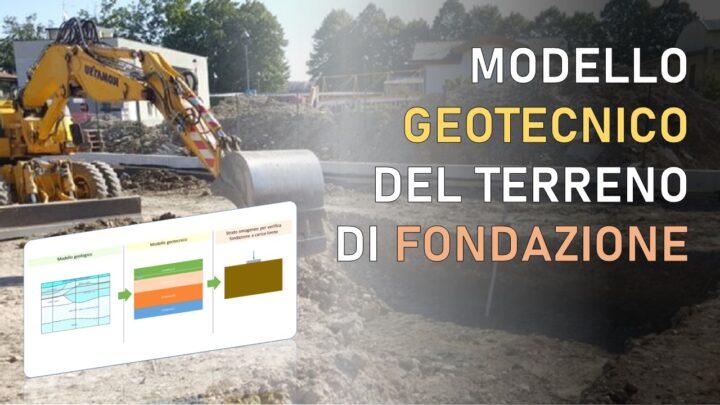 relazione geotecnica e modello geotecnico